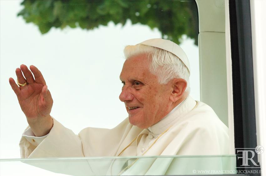 Benedetto XVI a San Giovanni Rotondo